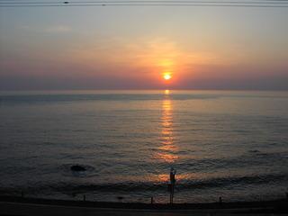 夕陽(岩尾温泉).JPG